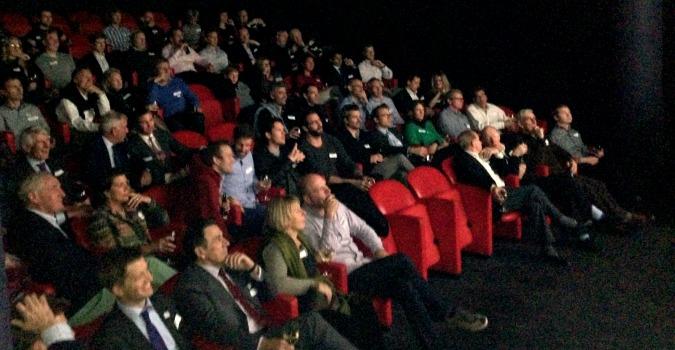The Soho Hotel's brilliant cinema!