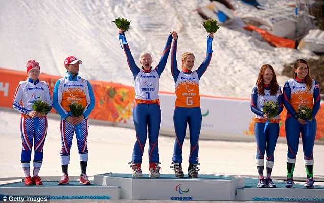 Gallagher and Evans take Gold & Etherington and Powell Bronze! (Super G)